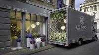 Pop-Up Flower Shops : floral displays