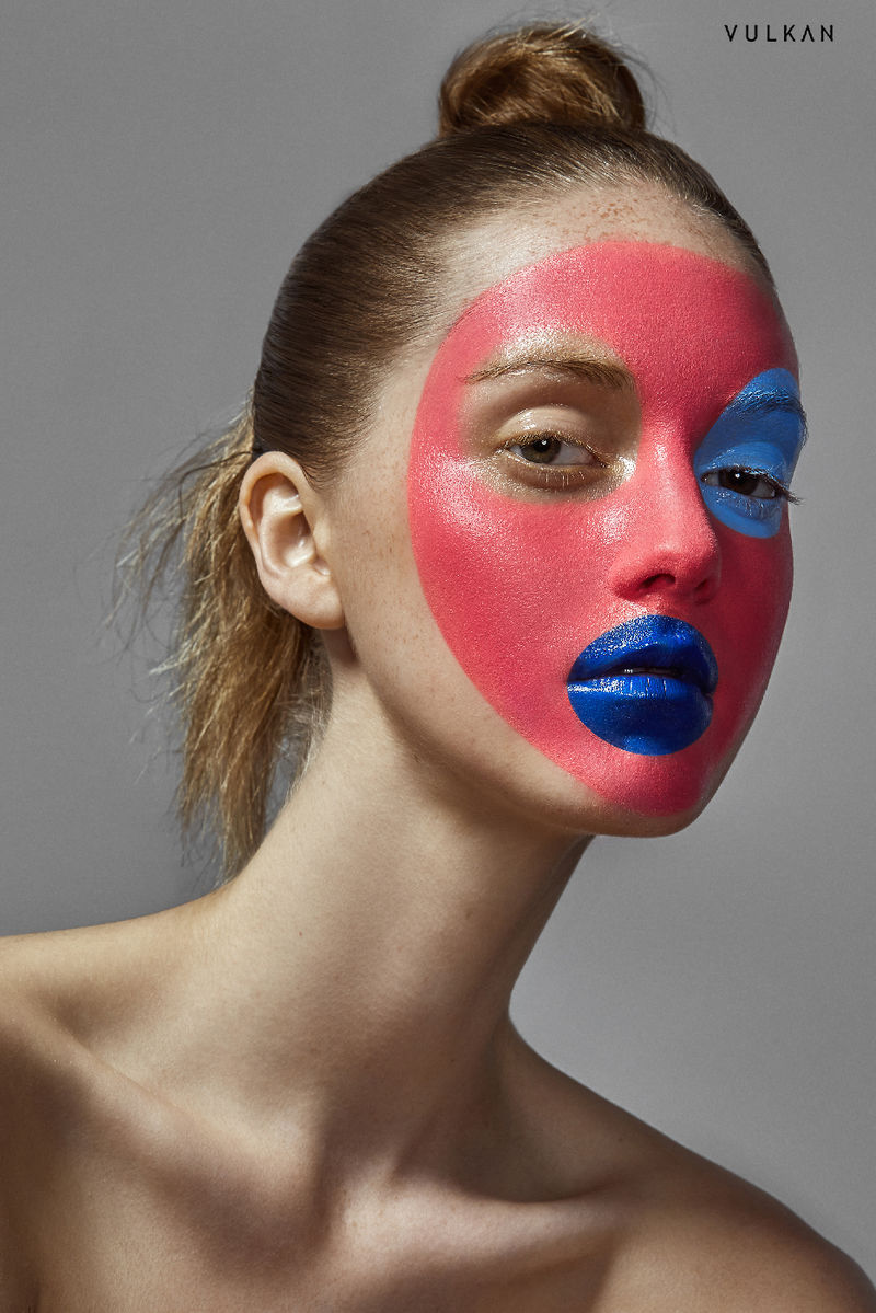 How Long Is Paint Good For Dramatic Face Paint Editorials : Geometric Beauty