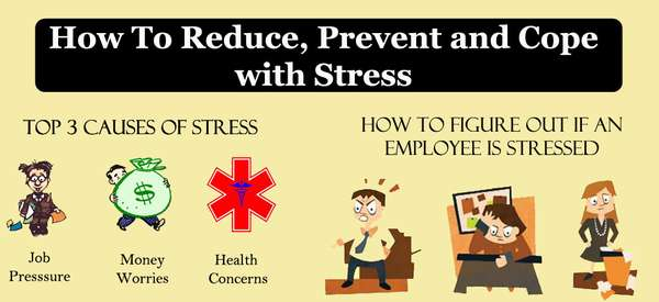 how to cope with stress at work