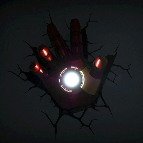 Hulk 3d Wallpaper Download Superhero 3d Lights Iron Man Hand 3d