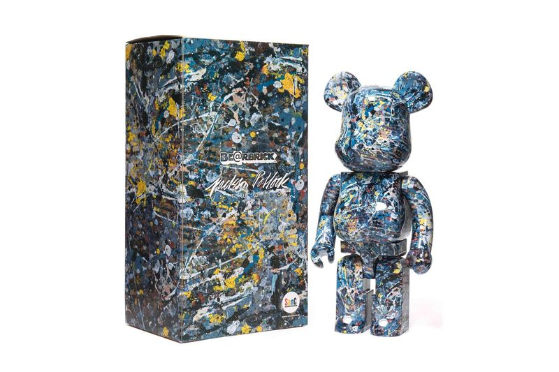 Japanese Themed Decor Expressionist Painter-referencing Toys : Jackson Pollock