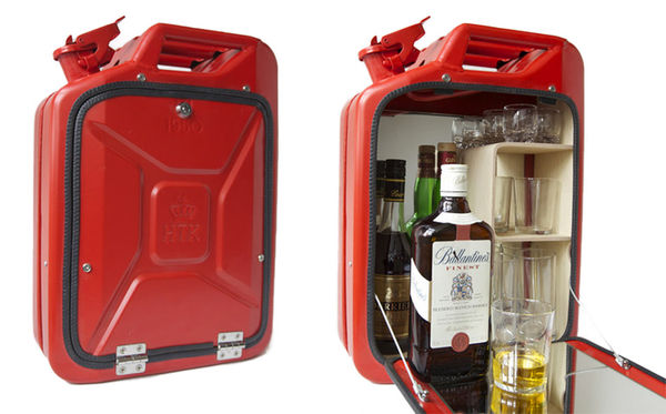 Gas Can Liquor Cabinets Jerry Can Bar