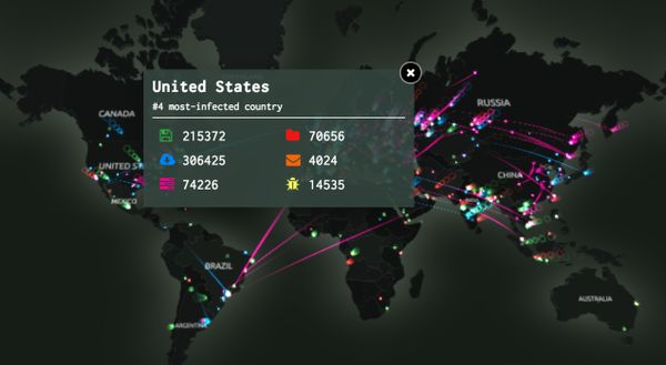 Rahul Wallpaper 3d Interactive Cyber Attack Maps Kaspersky Labs