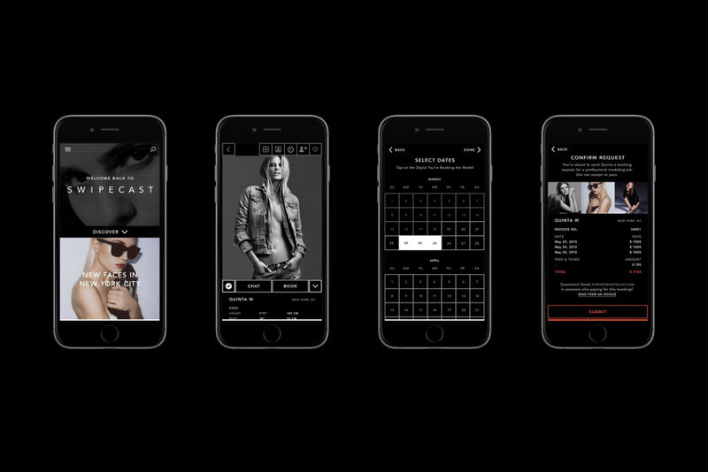 Model-Booking Apps  Modeling app