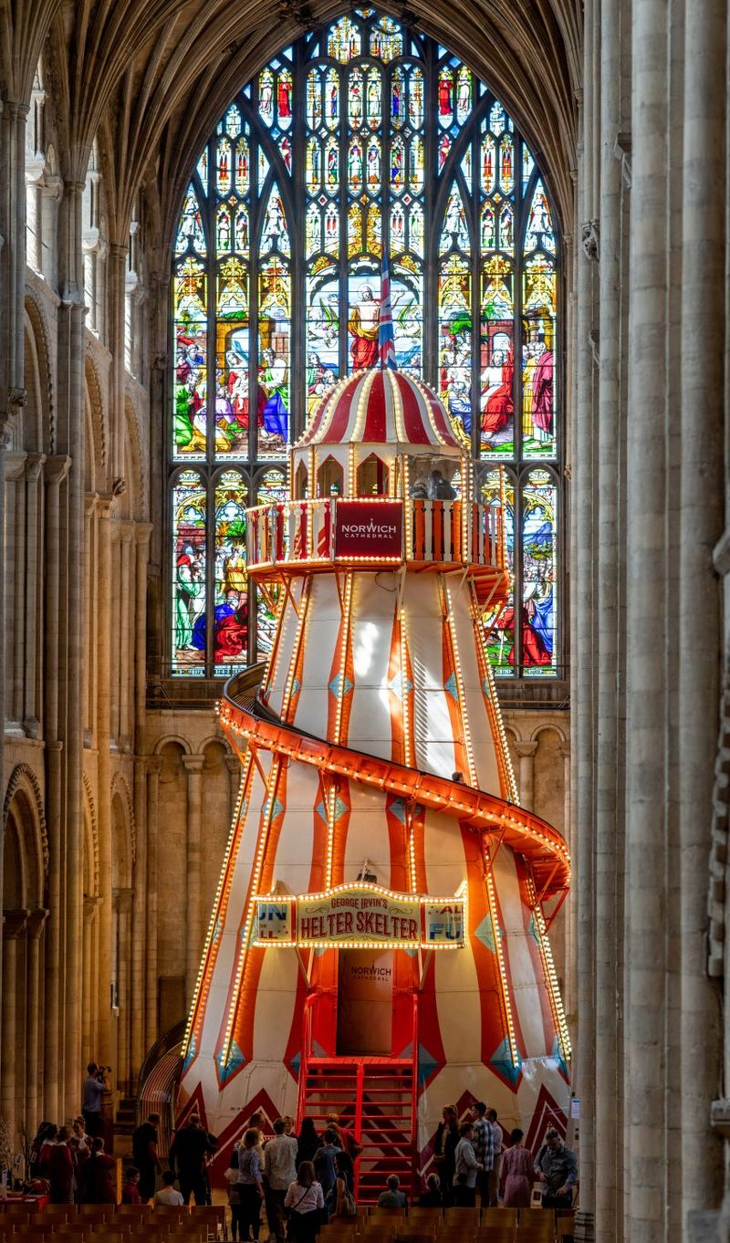 Air Ride Norwich Funhouse Chapel Rides Norwich Cathedral