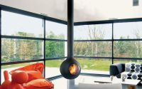 Modern Orb Fireplaces : orb fireplace