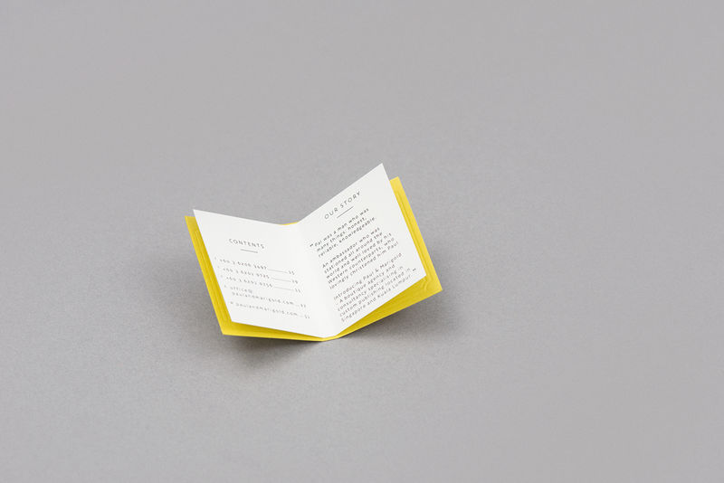 Book-Shaped Business Cards  Paul  Marigold Business Cards