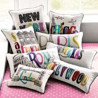 Darling Destination Pillows : PB Teen Pillow