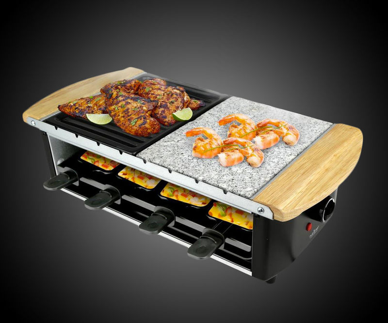 Multi-Level Cooker Food Servers  raclette grill