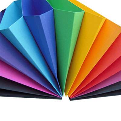 Rainbow Office Supplies Multicolored Expanding Files Make
