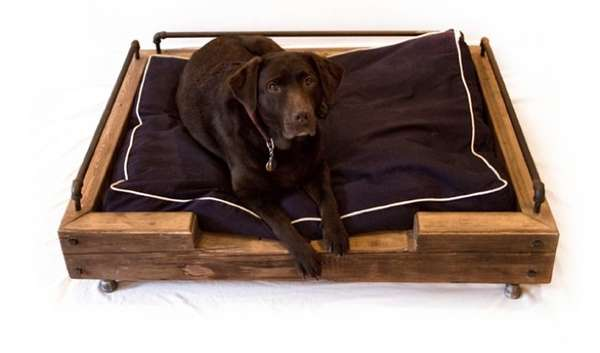 Couch Bed Frame Repurposed Pet Beds : Reclaimed Dog Beds
