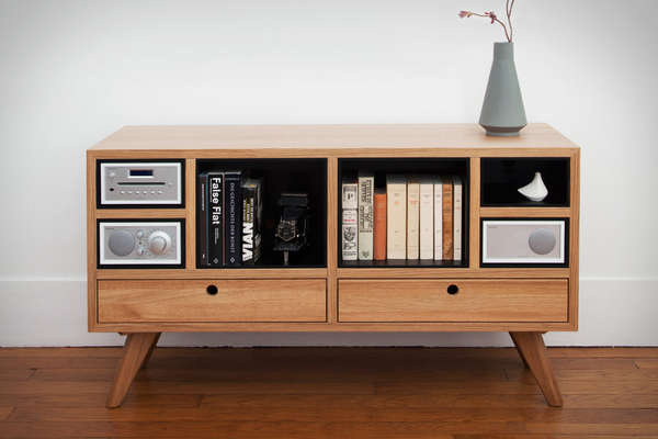Tv Sideboard Ideas Sound System-centric Furniture : Remix Sound Sideboard