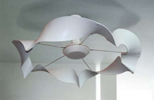 Ceiling Fan With Folding Blades Curvaceous Room-coolers : Ribbon Ceiling Fan