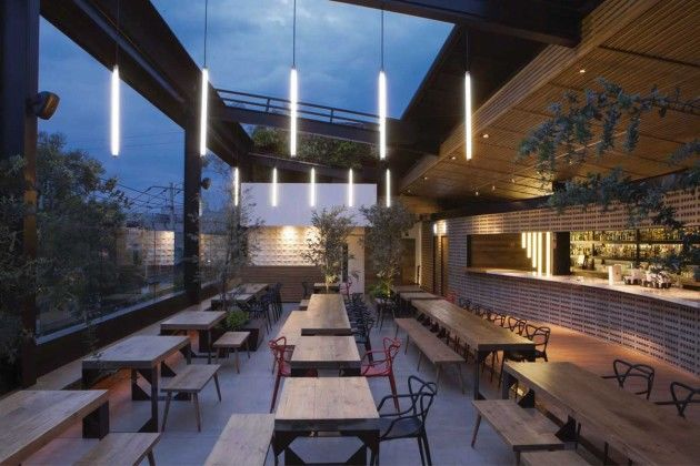 Terrasse En Tech Urban Rooftop Bars : Rooftop Bar