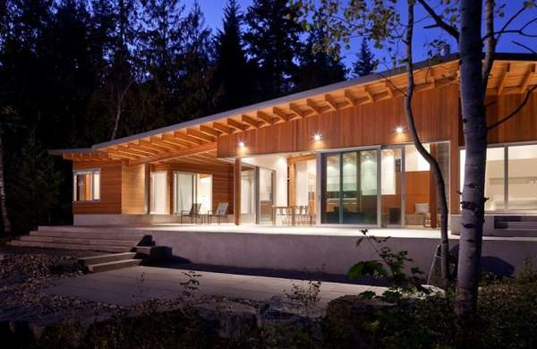 Ferienhaus Bauen Kosten Wooden Bungalow Cottages : Shuswap Cabin By Splyce Design