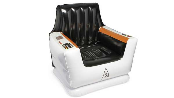 Sci Fi Seating Star Trek Inflatable Captain S Chair
