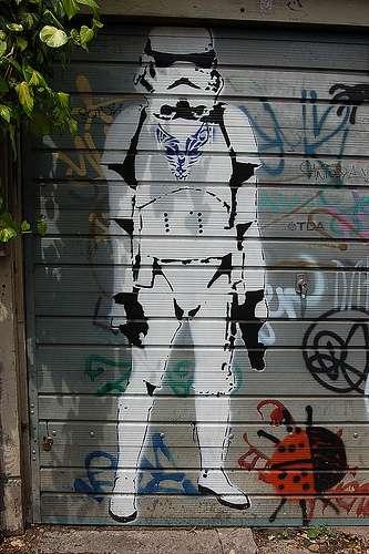 Cool Graffiti Wallpapers Hd Star Wars Graffiti Street Art From A Gallery Far Far Away