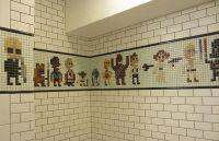 Sci-Fi Shower Tiles : star wars shower