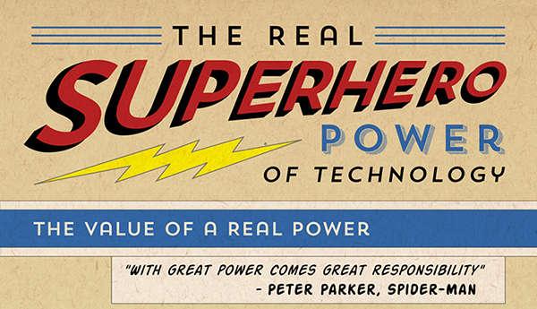 Realistic Super Power Infographics  superhero powers