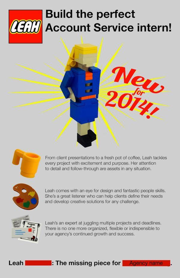 Unforgettable LEGO Resumes  Unique Resume