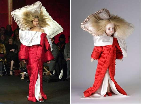 Commemorative Fashion Dolls Viktor Rolf Retrospective Dolls