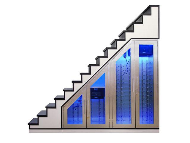 Staircase Wine Storage Quotwine Cabinetquot