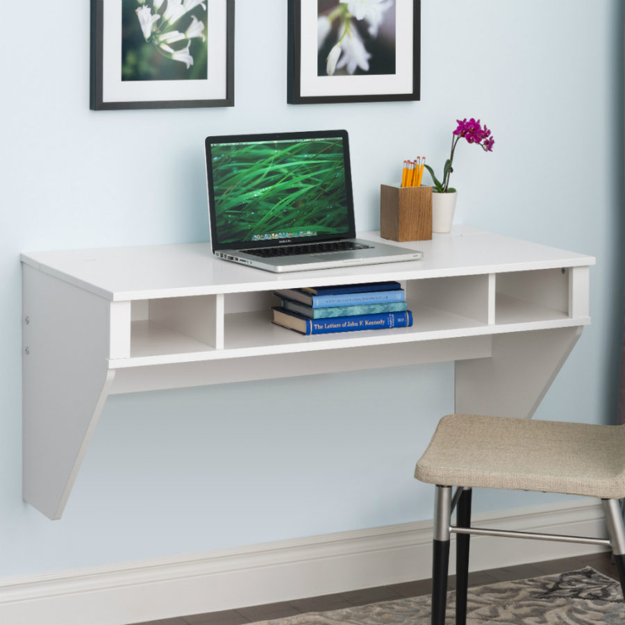 Wall Mounted Desks For Small Spaces Best Wall Mounted Desk Designs For Small Homes