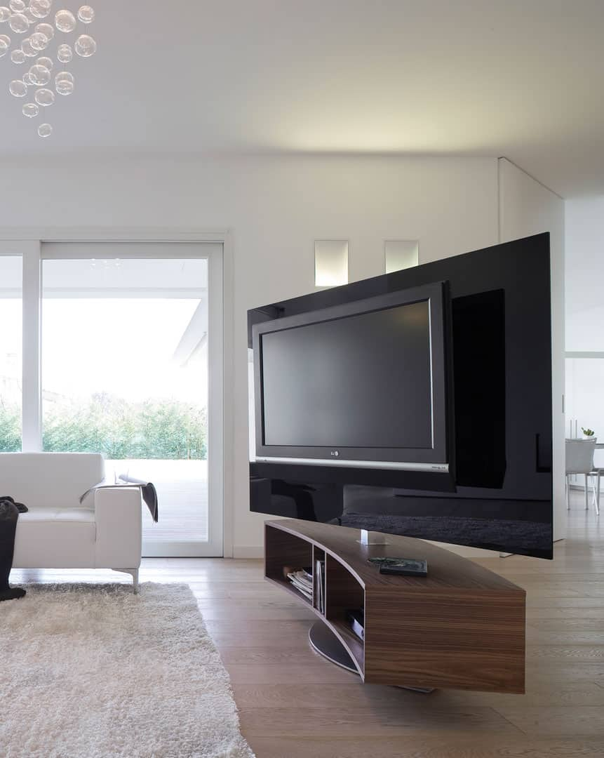 Tv Wand Glas 44 Modern Tv Stand Designs For Ultimate Home Entertainment