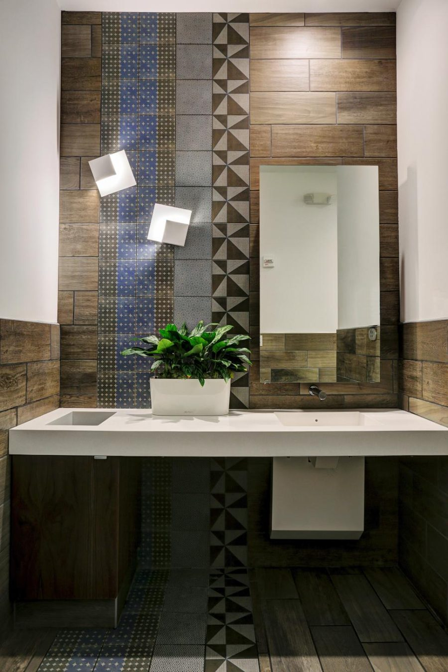 Wood Looking Tile Bathroom Wood Look Tile Ideas For Every Room In Your House