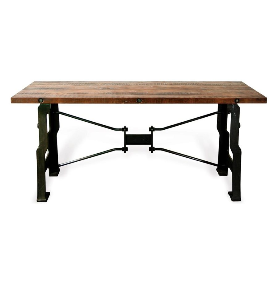 Long Wood Desk Make Your Office More Eco Friendly With A Reclaimed Wood Desk