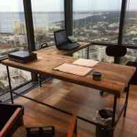 21 Cool Office Desks Reclaimed Wood | yvotube.com