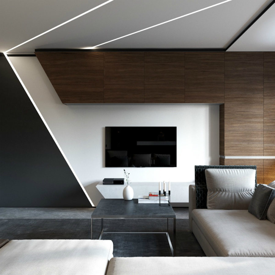 Wood Wall Behind Tv Elegant Contemporary And Creative Tv Wall Design Ideas