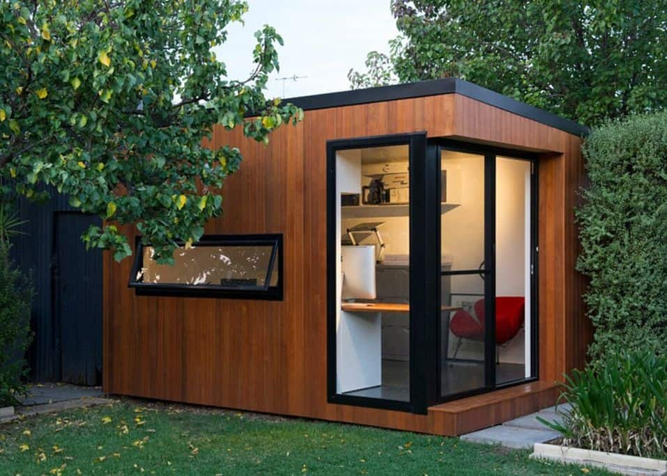 Habillage Mur Exterieur Bois The She Shed | Modern Shed Styles | Backyard Design