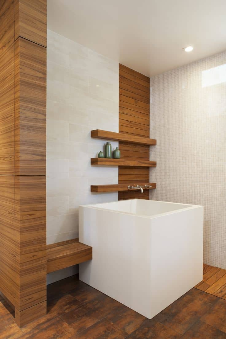 19 Japanese Soaking Tubs That Bring The Ultimate Comfort - Japanische Sitzbadewanne