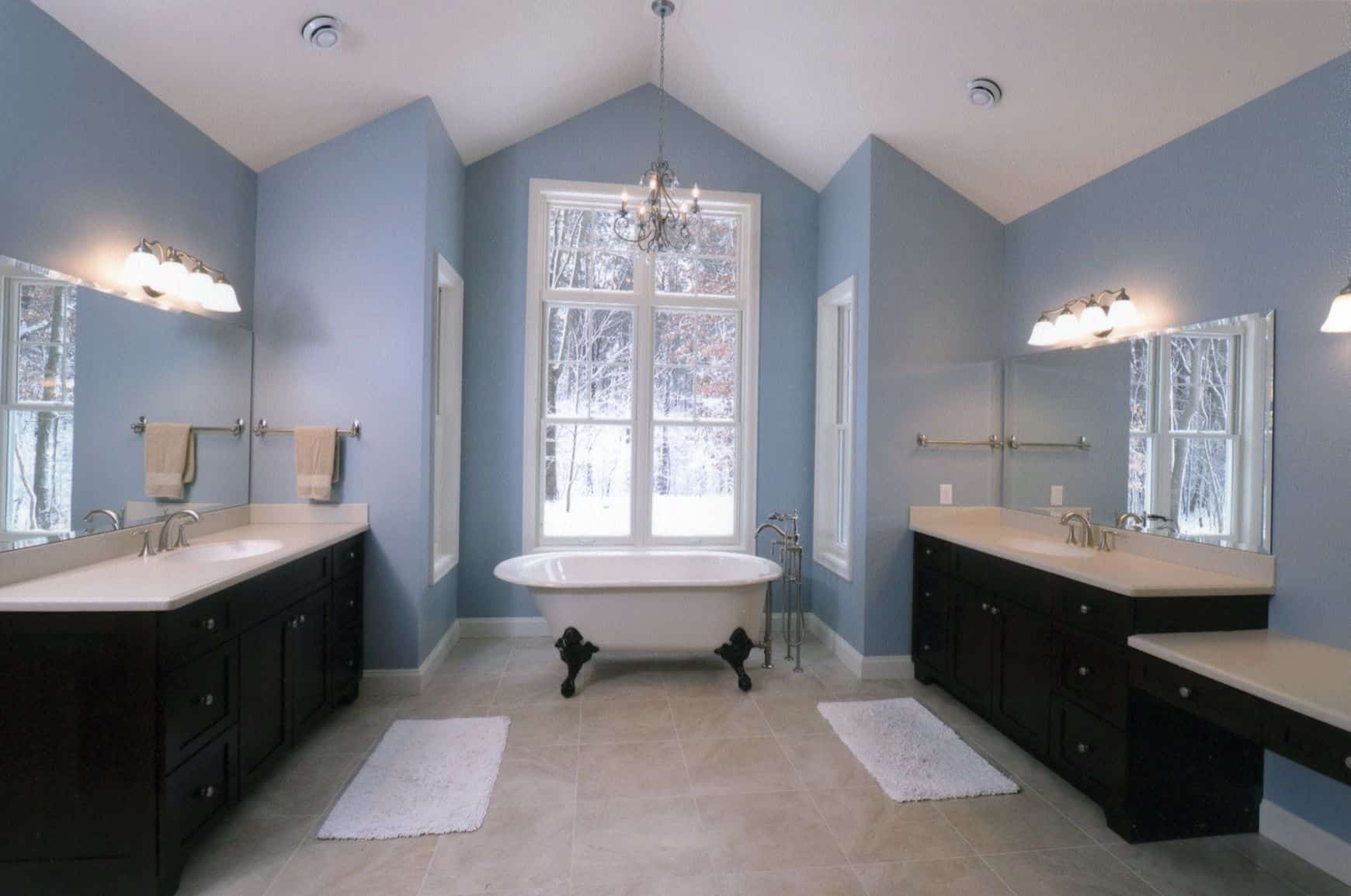 Blue Bathrooms Pictures How To Properly Decorate With Shades Of Blue