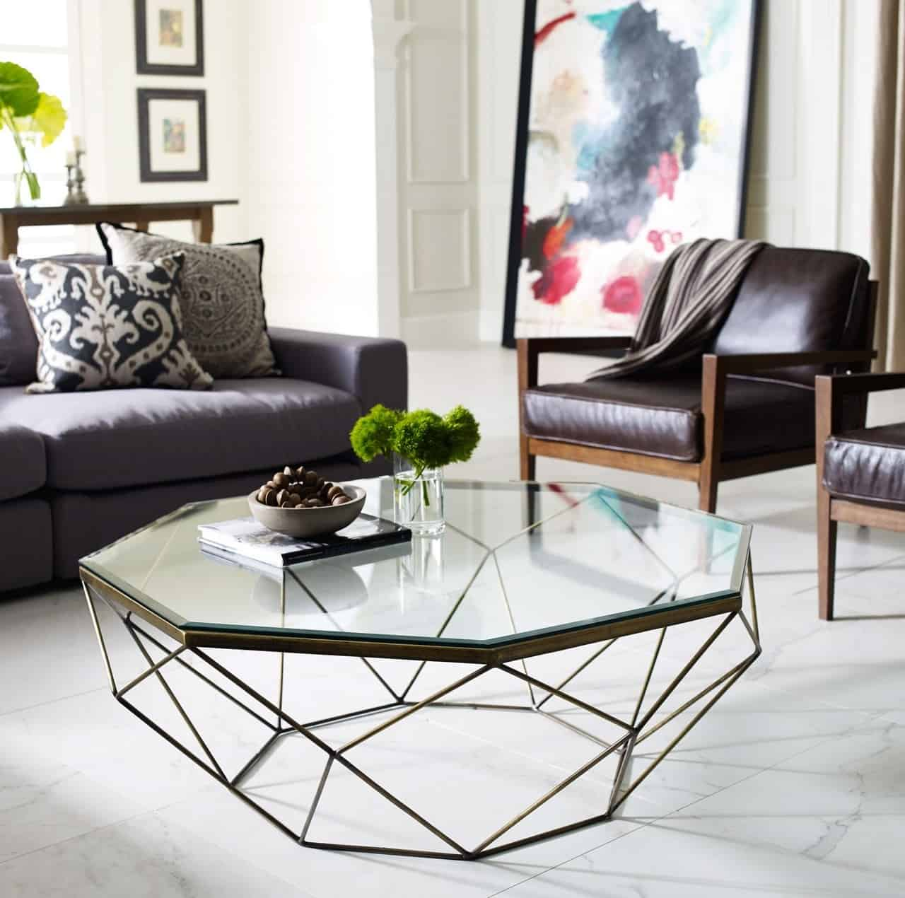 Metal Coffee Table Modern Coffee Table Trends For 2018