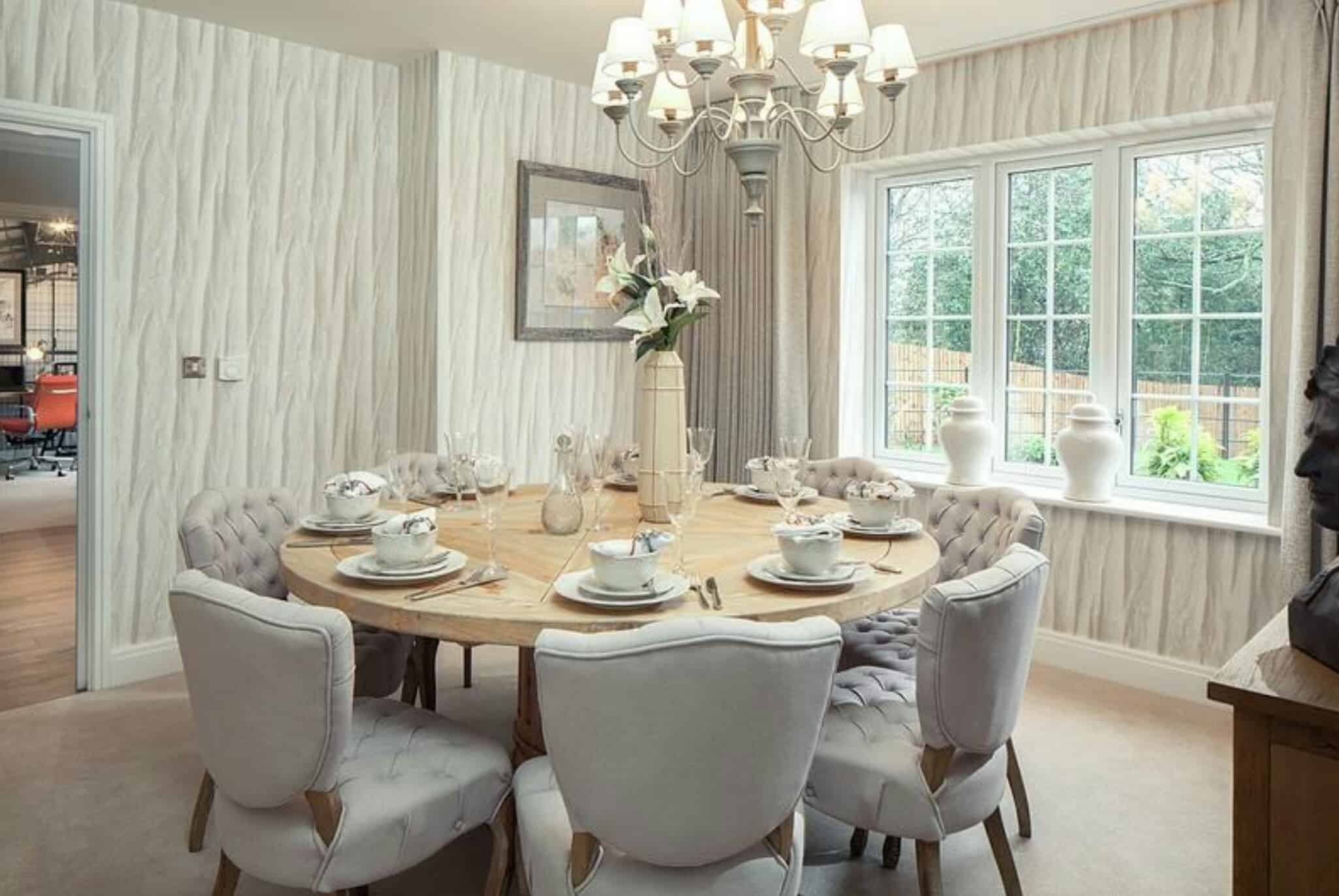Breakfast Room Tables Modern Dining Room Tables That Are On Trend