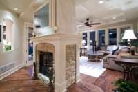These 15 Double-Sided Fireplaces Wishing For The Coldest ...