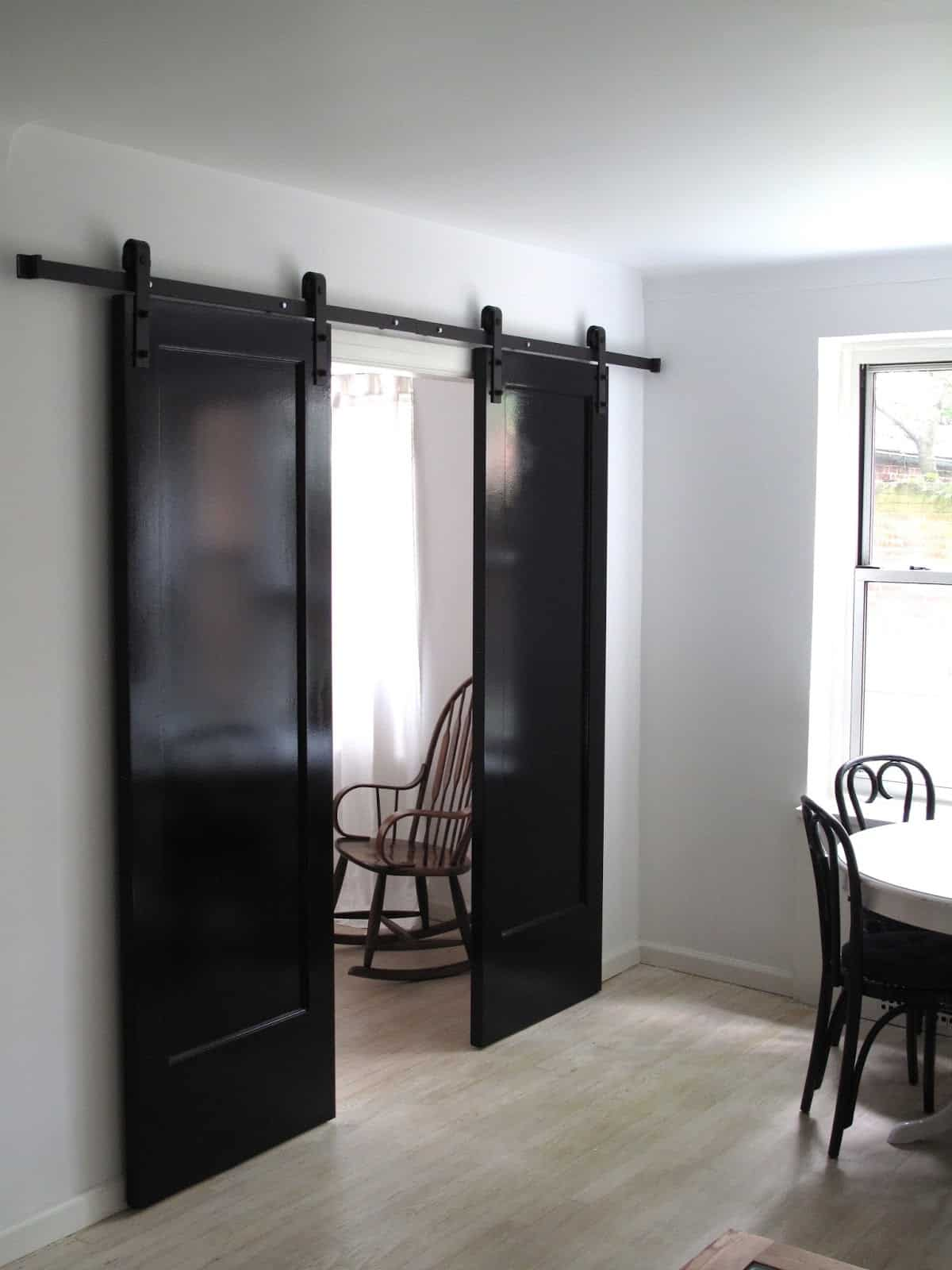 Painted Barn Doors Awesome Sliding Barn Door Ideas To Include In Your Home