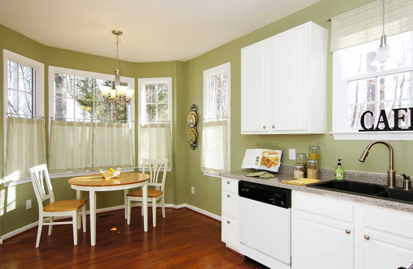 Breakfast Nook Curtains Trendy Breakfast Nook Ideas