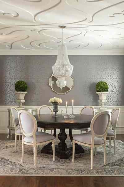 11 breathtaking dining room wallpapers