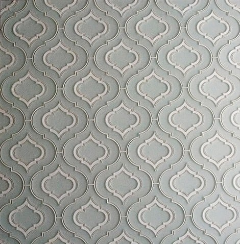 3d Stone Style Wallpaper Moroccan Style Glass Tile From Edgewater