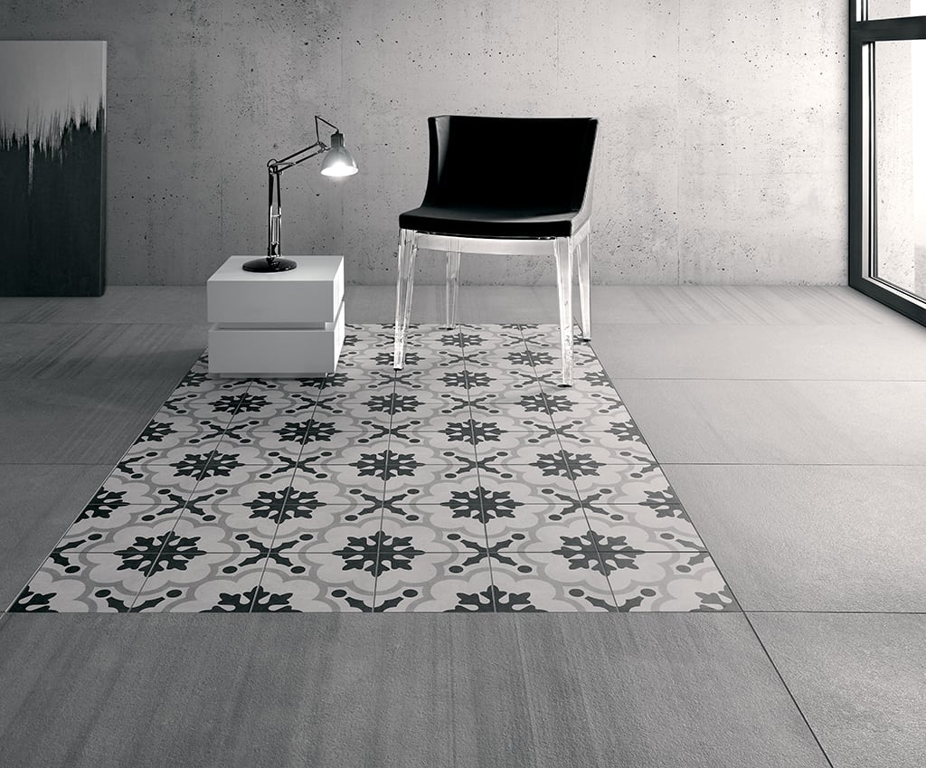 Carrelage Cementine Modern Art Deco Tiles From Fioranese Rock In Black And White