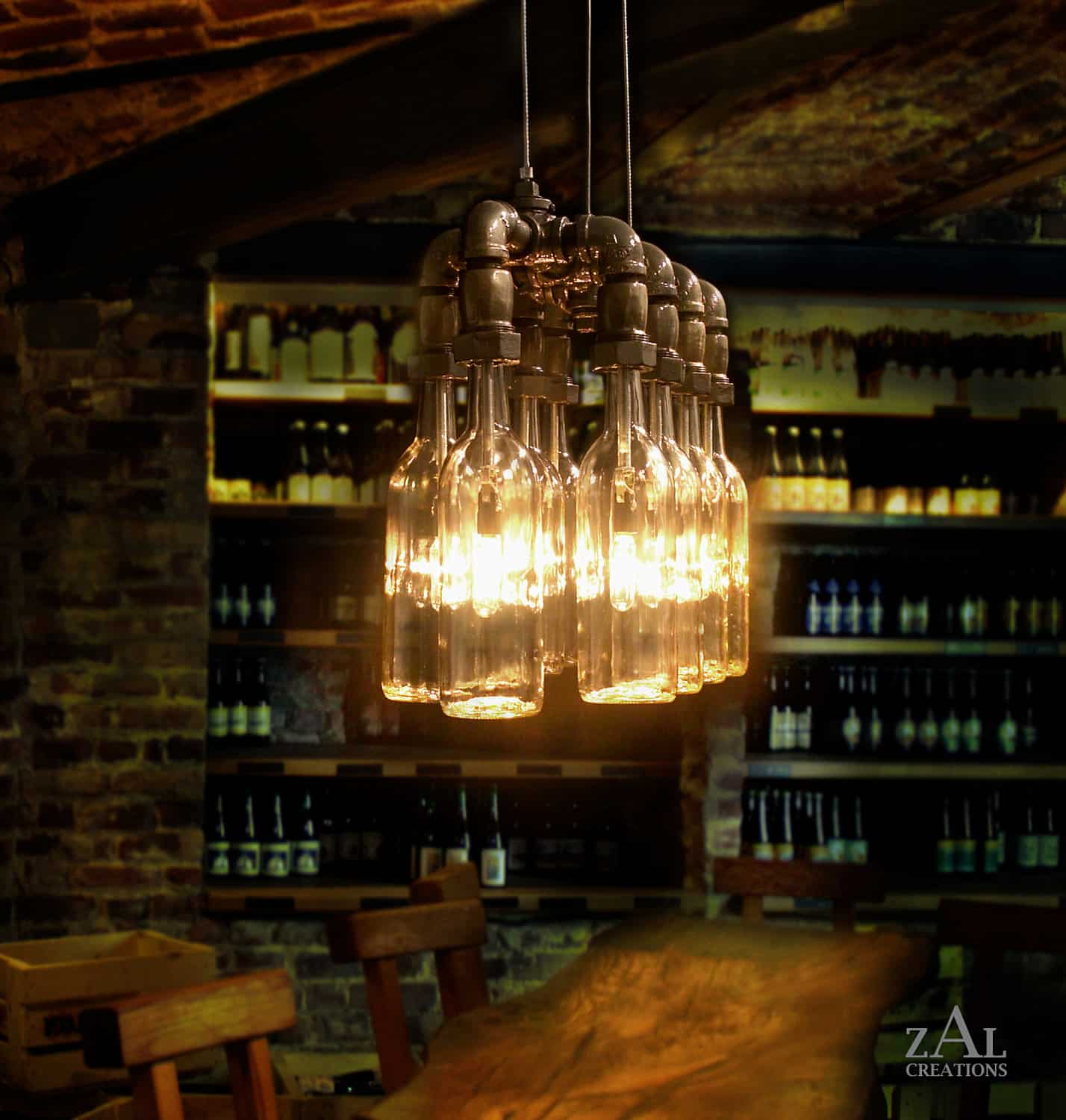 Hanging Bar Light Fixtures 23 Awesome Plumbing Pipe Furniture Designs