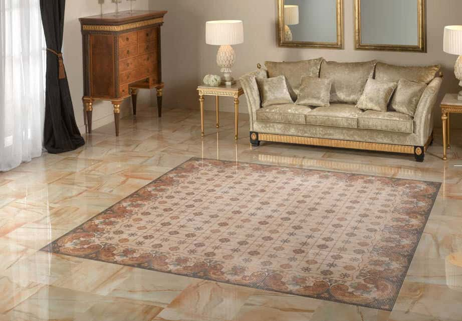 25 Beautiful Tile Flooring Ideas for Living Room, Kitchen and - tile floors in living room