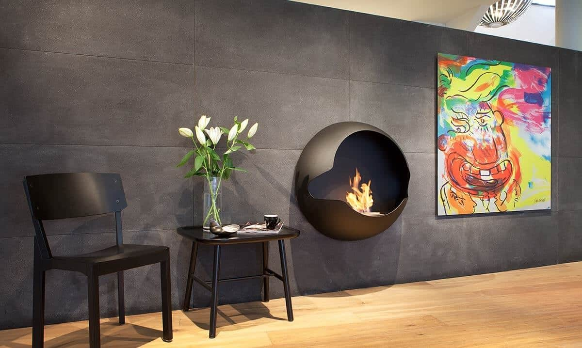 Ethanol Fireplaces Reviews 15 Bio Ethanol Fireplaces With Geometric Designs