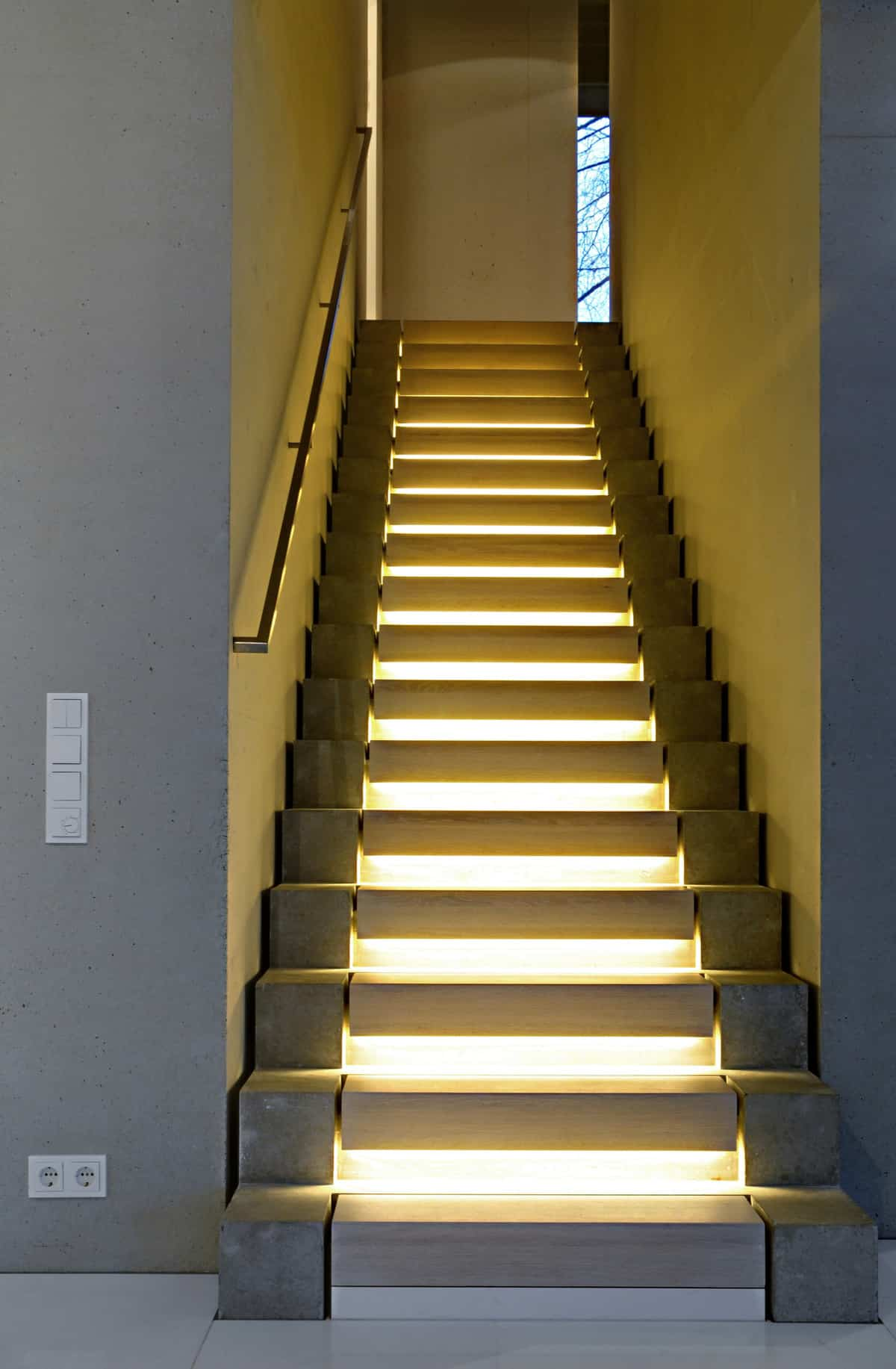 Stairway Designs 15 Geometric Staircase Designs