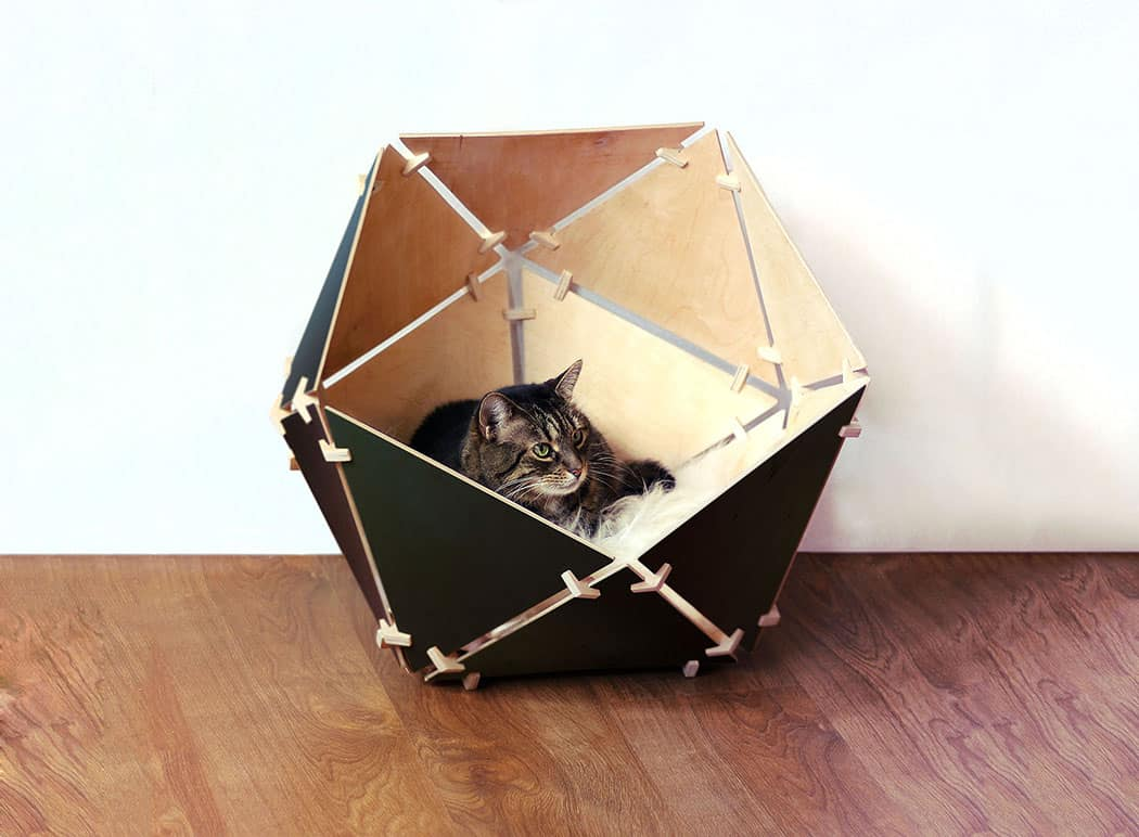Modern Cat Bed Furniture Chic And Cozy Cat Beds 20 Modern Ideas