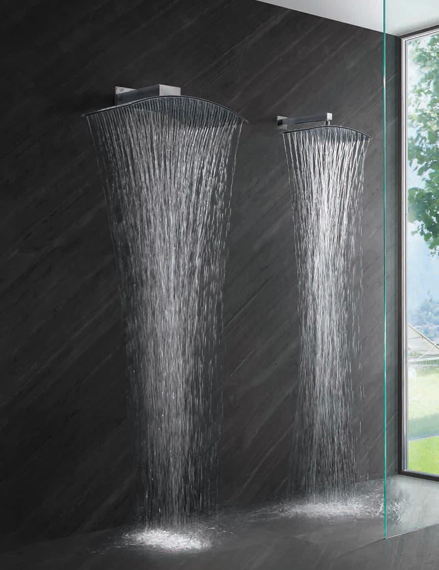 Water Fall Effect Wallpaper Best Rain Shower Heads For Modern Eco Friendly Bathrooms