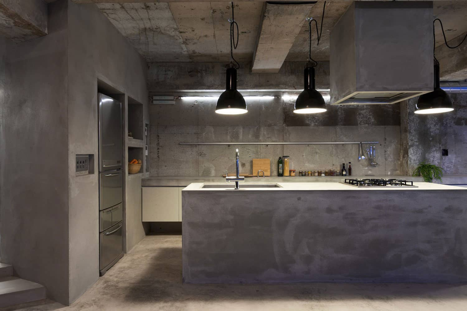 modern kitchen countertops from unusual materials concrete kitchen countertops View in gallery modern countertops unusual material kitchen concrete 3